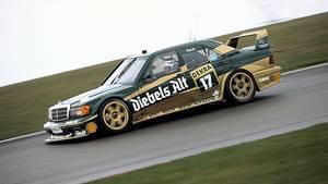 Mercedes 190 E DTM - das waren noch Zeiten. Ende der 80er / Anfang der 90er war die Serie heiß
