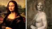 """Hat Da Vinci eine """"nackte"""" Mona Lisa gezeichnet?"""