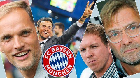 Trainer-Kandidaten FC Bayern München