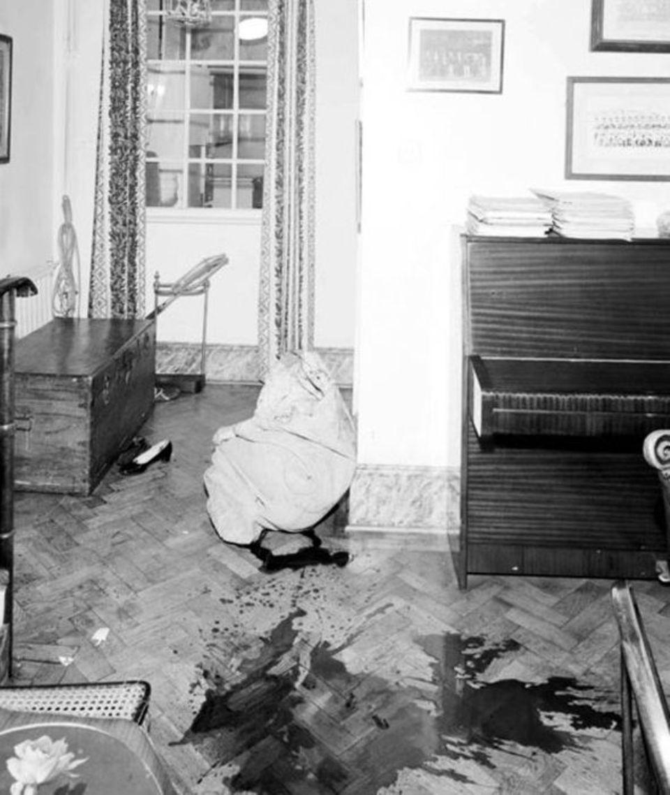 Im Untergeschoss starb das Kindermädchen