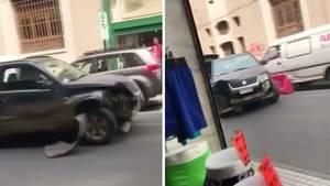 Chile: Autofahrerin verursacht wilden Crashkurs bei Flucht vor der Polizei