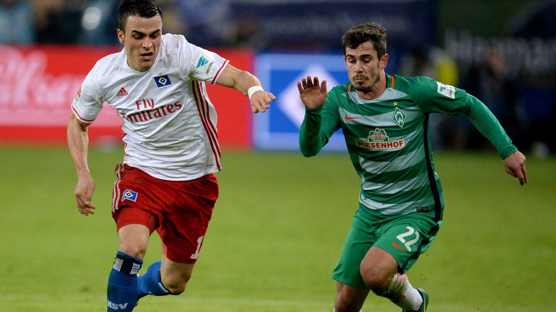 HSV gegen Werder Bremen