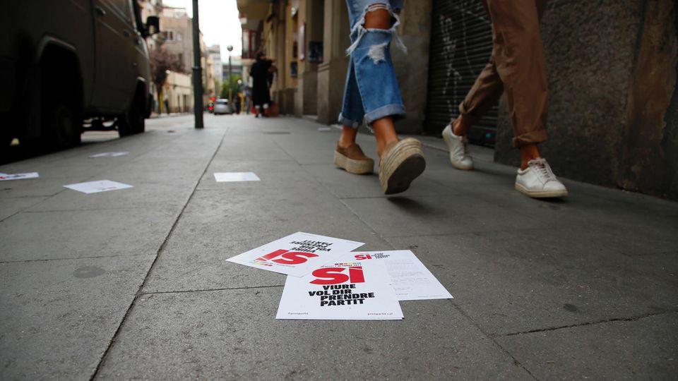 Referendum in Katalonien: Zwei junge Katalanen erzählen, was sie von dem Referendum halten