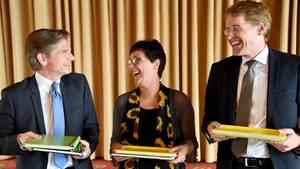 """100 Tage Jamaika-Bündnis: Noch herrscht Kuschelkurs in Kiel - """"das ist jeden Tag harte Arbeit"""""""