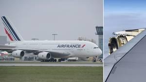 Französische A380: Triebwerkexplosion bei Passagierflugzeug - Notlandung in Neufundland