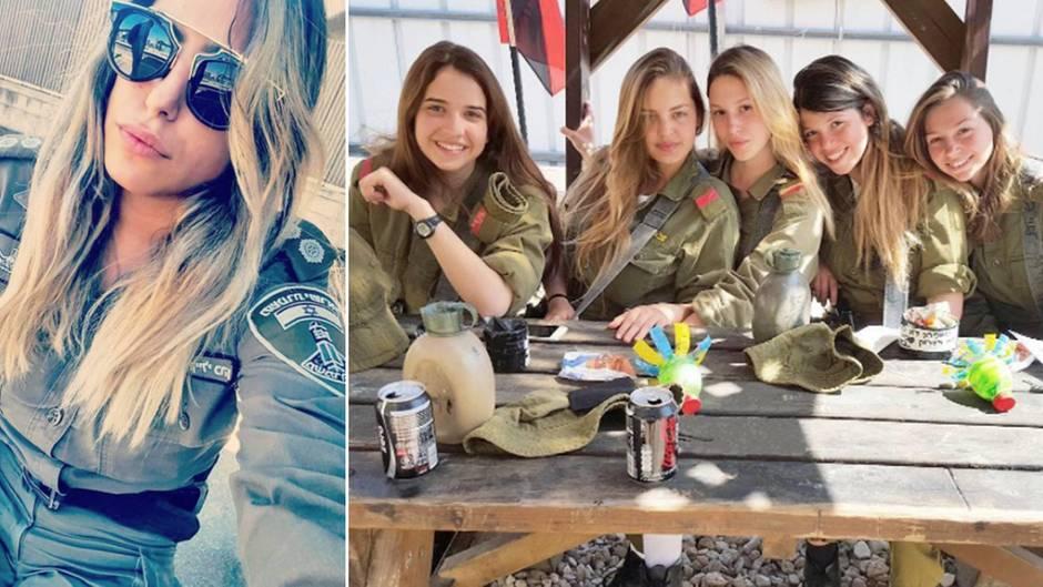 """Instagram-Kanal """"girlsdefense"""": Wo Israels Militär-Schönheiten für ein vermeintlich edles Motto posieren"""