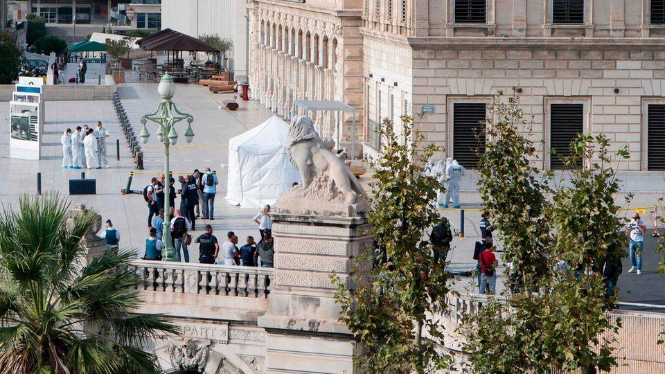 Beim Messerangriff vor dem Bahnhof in Marseille starben zwei Frauen