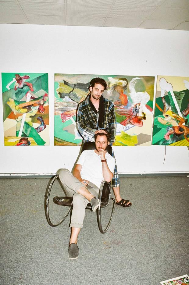 Der Maler Alexander Iskin tat sich schwer, dem Käufer seines Bildes einen Sinn für Kunst zu vermitteln