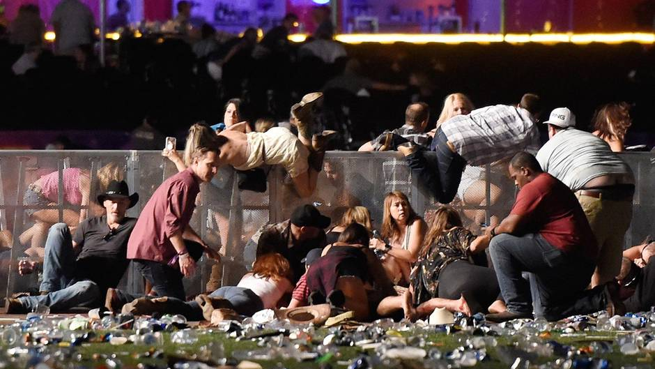 Schießerei bei Konzert: Videos zeigen den Moment der Attacke in Las Vegas