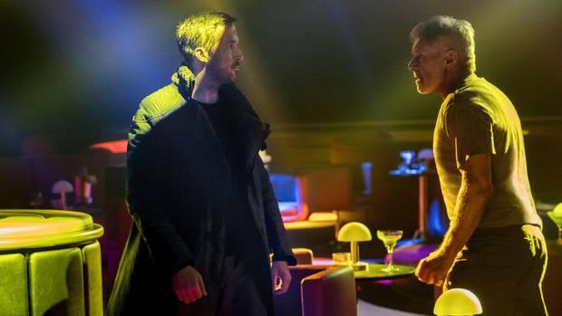 """Treffen der """"Blade Runner""""-Generationen: K und Rick Deckard (Harrison Ford)"""