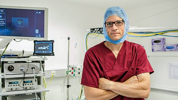 Orthopäde Matthias Buhs