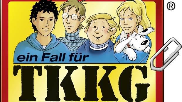 Tim, Karl, Klößchen und Gaby - die Titelhelden von TKKG