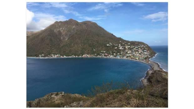 """Eigentlich eine Trauminsel inmitten der kleinen Antillen in der süd-östlichen Karibik. Doch Dominica wurde von Hurricane """"Maria"""" schwer getroffen. Scotts Head liegt am südlichsten Zipfel der Insel."""