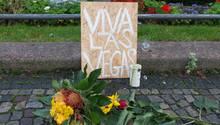 Viva Las Vegas - Trauertafel nach dem Massake