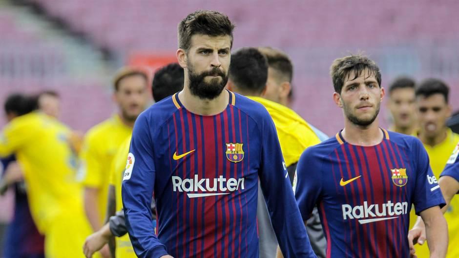 Gerard Piqué ist überzeugter Katalane und spielt für den FC Barcelona