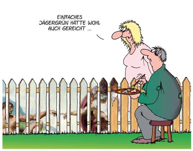 Cartoons Von Uli Stein Die Wahrheit Uber Heimwerker Stern De