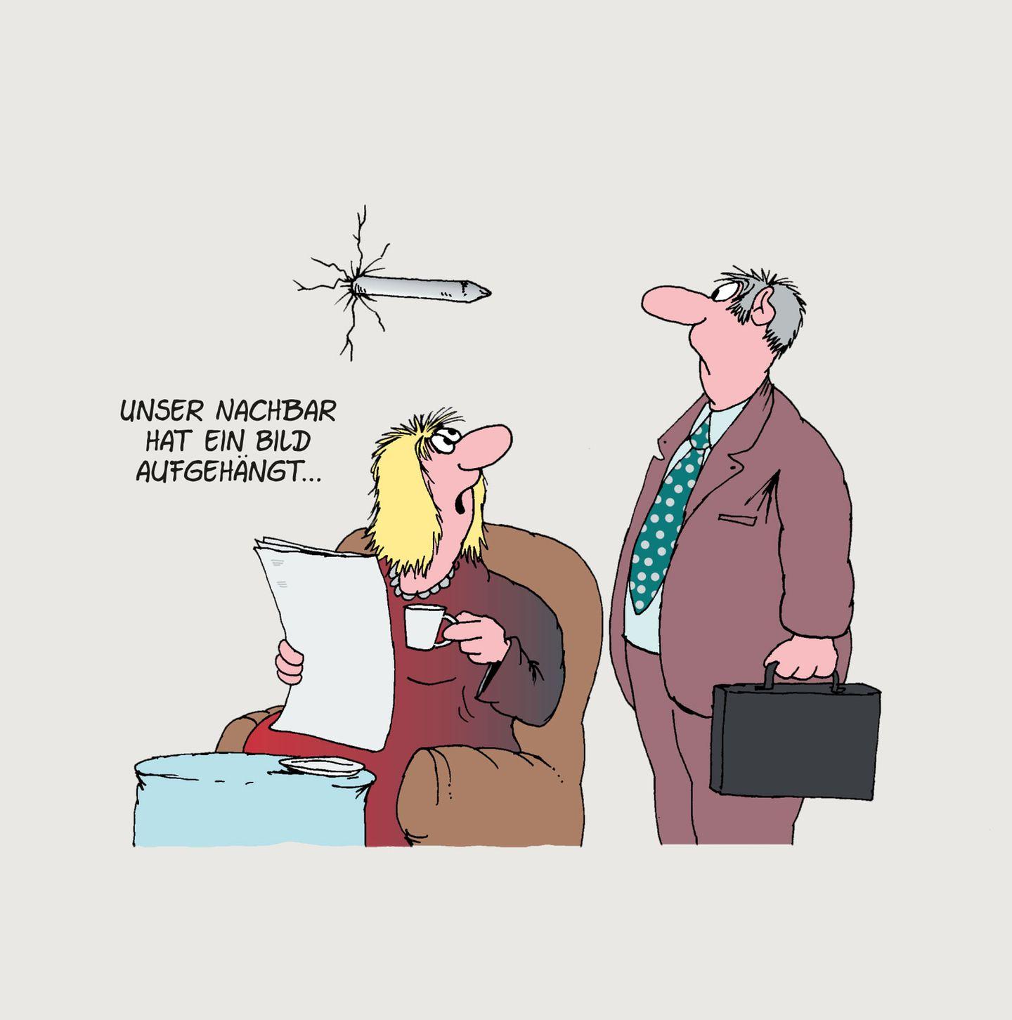 Cartoon Uli Stein