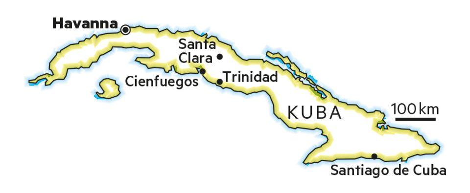 Kuba: Auf Motorradtour mit Che Guevaras Sohn