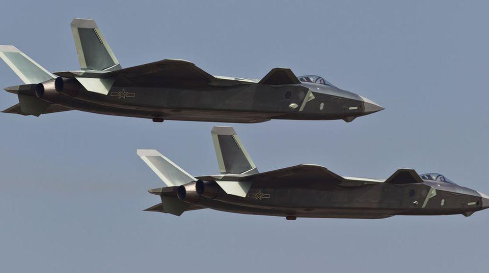 Die J-20 beendet eine Ära.