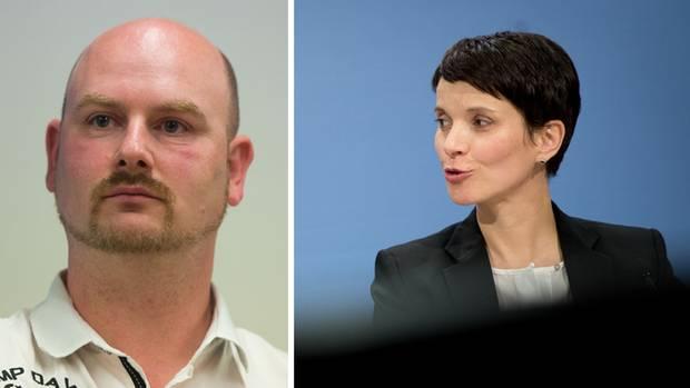 Der AfD-Politiker Mario Mieruch wird wie Frauke Petry nicht der Bundestagsfraktion seiner Partei angehören