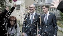 Volker Beck mit Ehepartner