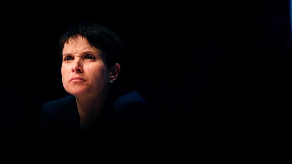 Ex-AfD-Chefin Frauke Petry steht mit der Anklage der Staatsanwaltschaft neuer Ärger ins Haus (Archivbild)