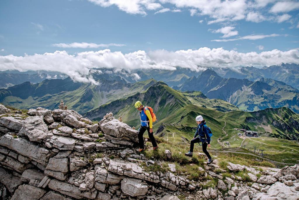 Klettersteig Levels : Tipp für outdoor fans zwei klettersteige im allgäu stern
