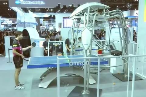 Machine mit Ballgefühl: Tischtennis-Roboter schmettert wie ein Profi