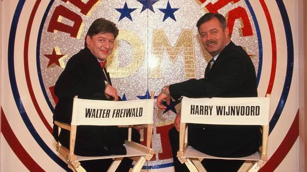 Die früheren Moderatoren Harry Wijnvoord und Walter Freiwald sind bei der Gameshow-Neuauflage nicht dabei (Archivbild)