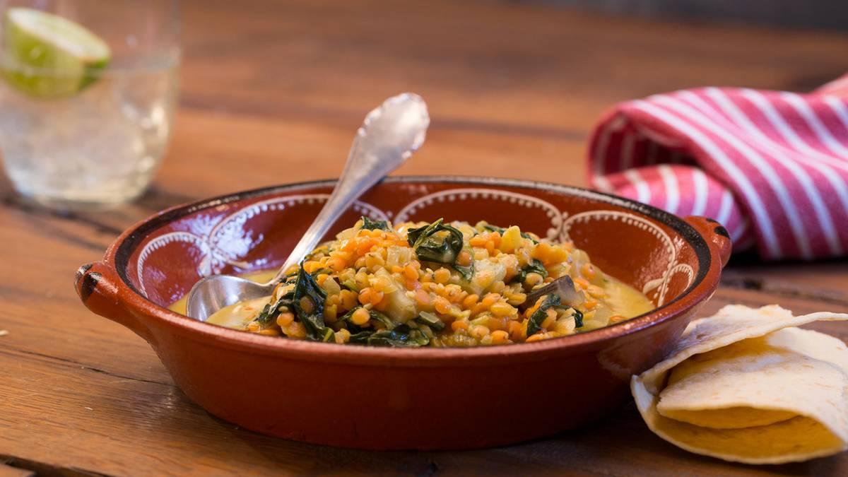 Linsen und Mangold: Dieses verführerische Curry müssen Sie unbedingt nachkochen
