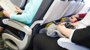 Sitzplätze im Flugzeug.