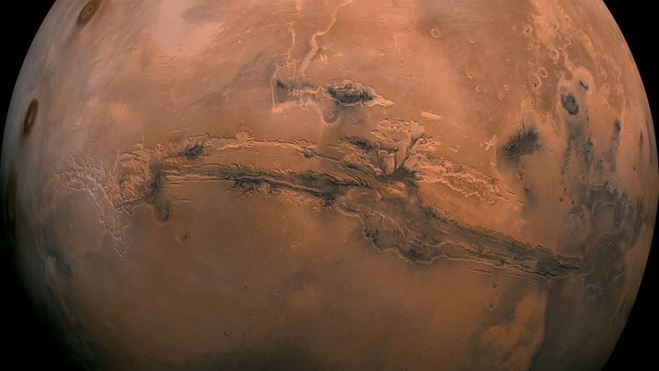 Der Mars ist Ziel der NASA-Aktion