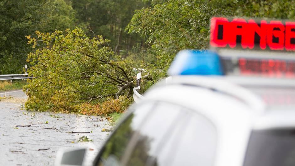 Sturm Xavier legt Verkehr lahm - 7 Tote
