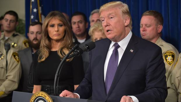 Donald Trumps (scheinheiliges) Verhältnis zu den US-Waffengesetzen