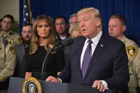 Nach Las-Vegas-Massaker: Trump und seine Kehrtwenden in der Waffenfrage