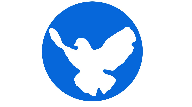 Das Logo der Friedenstaube