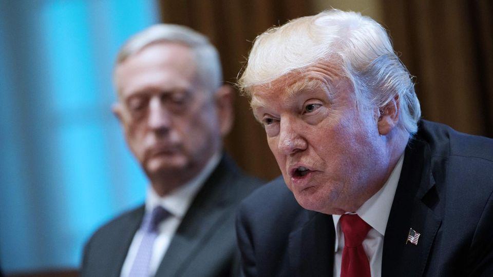 Donald Trump greift Iran erneut wegen des Atomabkommens an