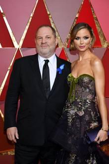 Harvey Weinstein und seine Frau Georgina Chapman