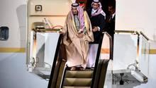 Staatsbesuch in Russland: König Salman von Saudi-Arabien - wenn die goldene Rolltreppe streikt