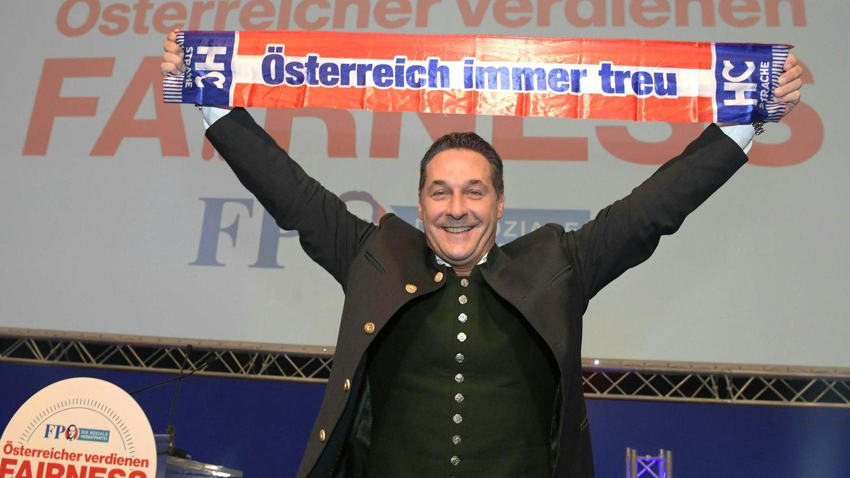 """""""Ich bin auf Österreich-Kurs"""", sagt Heinz-Christian Strache"""