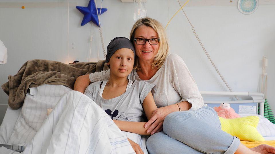 Der Kampf einer 16-Jährigen gegen Leukämie