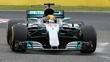 Lewis Hamilton qualifiziert sich in Japan für die Pole Position