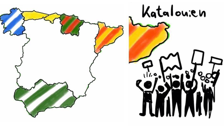 Kurz erklärt: Kennen Sie die wichtigsten Separatisten-Bewegungen in Spanien?