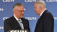 Joachim Herrmann und Horst Seehofer: Auf der Suche nach der eigenen Haltung vor dem Unions-Gipfel mit der CDU