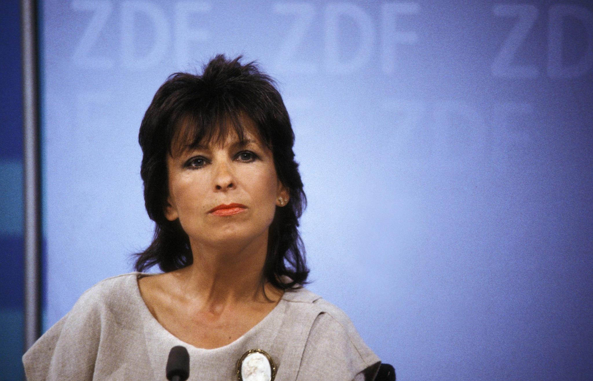 """Ulrike von Möllendorff ZDF """"heute"""" Sprecherin gestorben"""