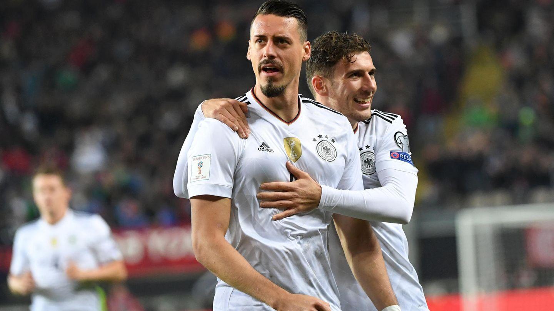 Sandro Wagner jubelt: In fünf Länderspielen hat er nun fünf Tore erzielt.