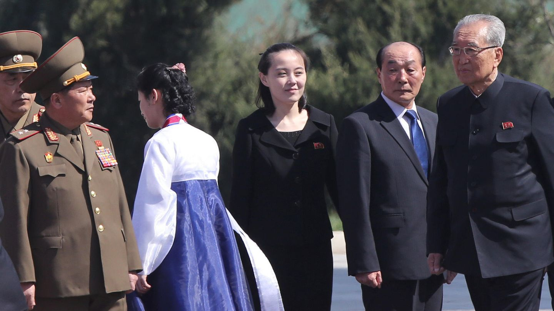 Kim Yo Jong in Pjöngjang