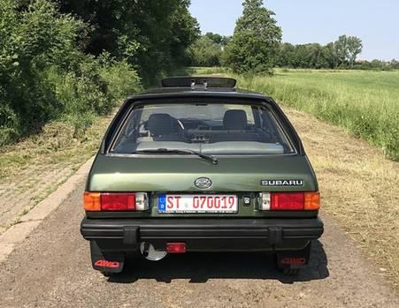 Subaru 1800 Turismo 4WD - den 1800er gab es in vier Karosserievarianten
