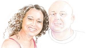 Odile, 47, und Malte, 49, leben in Kalifornien