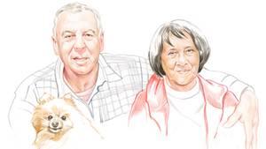Nellie, 79, und Johan, 76, leben in Kapstadt